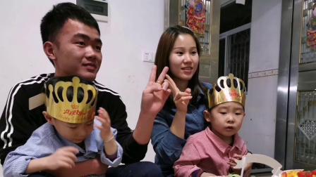 黄炜杰黄炜霖双胞胎生日快乐2020.2.20