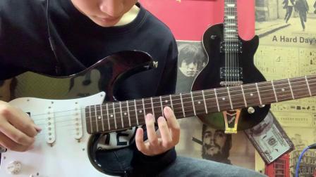 天空之城 电吉他初学版-齐海宇