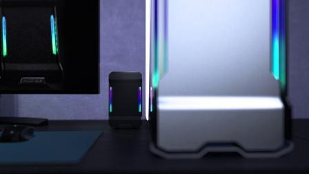 Phanteks追风者EVLOVSound mini 小音箱电脑笔记本台式主机电脑环绕音效音箱,518系列机箱配套音箱!!