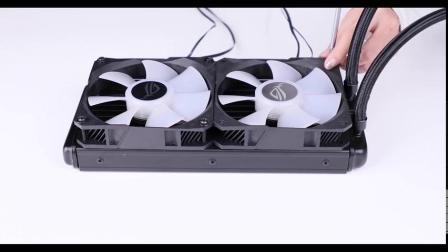 追风者 P360X装机:表妹用一万元打造一台紧凑型ATX超频游戏DRGB台式电脑主机箱!p360x 装机教程