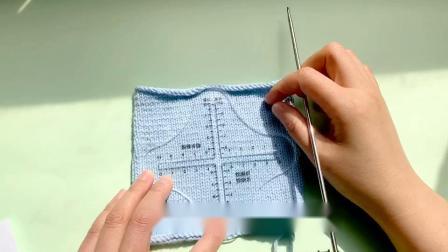 编织工具测量毛线小样密度尺打毛衣的创意配件昭尔茹悦编织