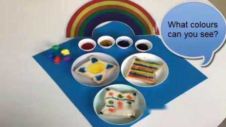 Make your own Rainbow Bread-EYFS