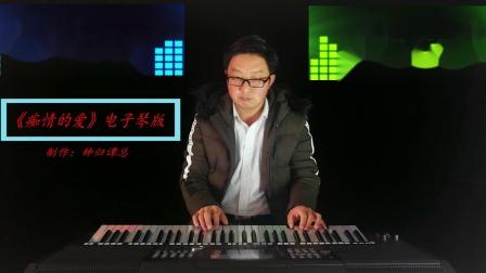 《痴情的爱》电子琴音乐