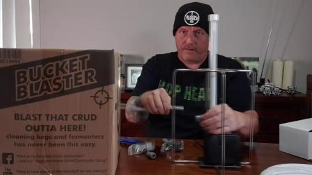 BUCKET BLASTER - Fermenter Keg Cleaner