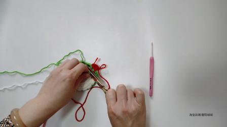 暖阳绒绒第41集郁金香杯垫隔热垫的编织教程大全图解