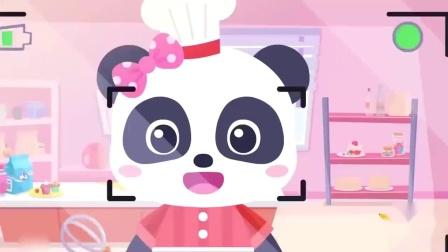 蜡笔精灵:幼儿儿歌,歌谣,故事,快来一起做蛋糕吧卡通动画!.mp4