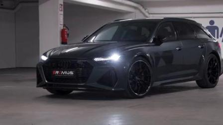 Audi RS6 REMUS sport exhaust