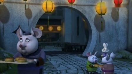 功夫熊猫:蝎子原形毕露,此次她的目的,是给和平谷所有村民下毒.mp4