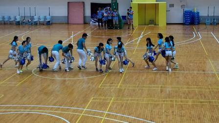 暨南大学珠海校区2014新生杯电气信息学院啦啦队总汇演