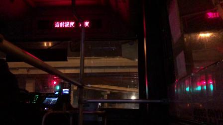 【巴士二公司】303路公交车(S2G-290B)(上海南站北广场-南浦大桥)全程