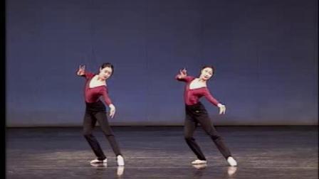 北舞古典舞身韵组合掰扣步