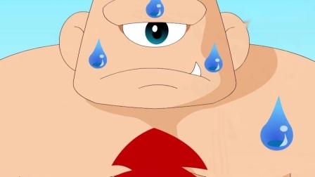 儿童故事:小裁缝好聪明呀,他把巨人给赢了,巨人伤心的哭了.mp4