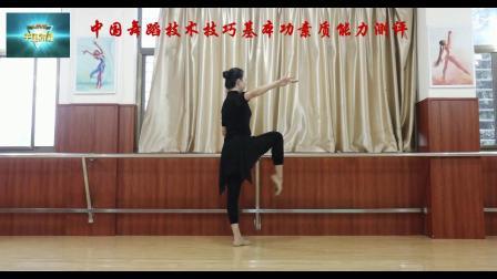中国舞蹈技术技巧基本功素质能力测评少儿基础训练师资班培训教材之腿部训练,把杆压腿