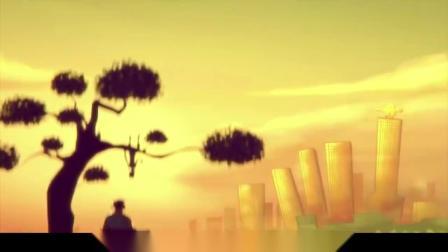 动画:男子天生与世界颠倒,别人生活在地上,他却生活在天花板上.mp4
