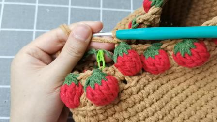 奶油草莓包教程2
