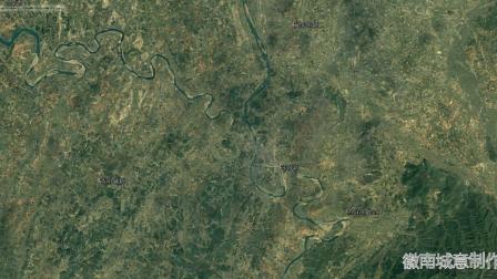 地图里看区域发展,湖南省永州市零陵区城市化进程