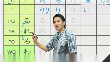 旭文日语网络课堂-新制50音课程-免费完整版在腾讯课堂公开中! 50yin_L4-3_ra