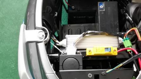 爱玛电动车电轻摩铅酸电池安装视频
