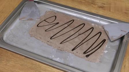 炒酸奶冰淇淋做法丨温州美食猎人做奥利奥三明治炒冰淇淋