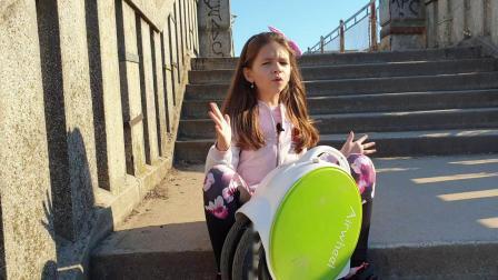 AIRWHEEL Q5 -国外小女孩体验爱尔威电动平衡车使用感受视频