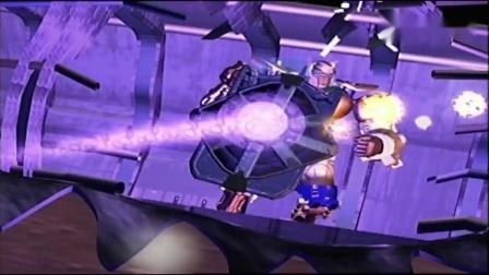 变形金刚 Beast Wars 野兽战争 动画回顾 等待猩猩队长登场的对决.mp4