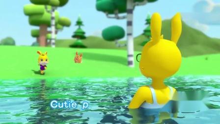 《无敌小可爱》英文版:小可爱们,快来和兔子贝贝一起学唱英文歌.mp4