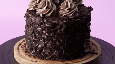 10﹢种简易巧克力蛋糕制作方法