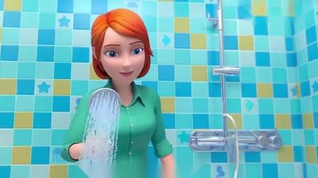 宝贝jojo视频:哥哥帮JOJO刷背,不要忘了还要洗手洗脚哦.mp4