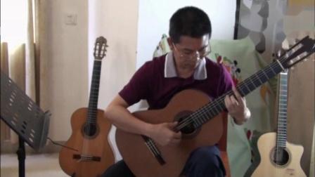 GuitarManH-----《爱的罗曼史》吉他独奏