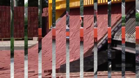 国外建筑施工:铺砖可以这样做,够高效吗?