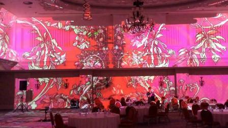 360 panoramic projection at ballroom, Rixos hotel Almaty.mp4