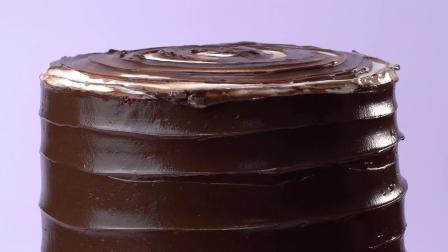 花式美味巧克力蛋糕教程
