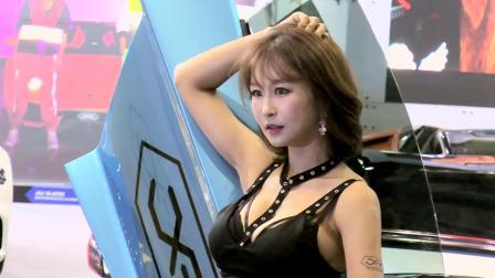 韩国美女车模展沙龙