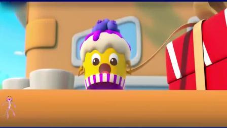 宝宝美食总动员—杯子蛋糕历险记,团结的力量好强大.mp4