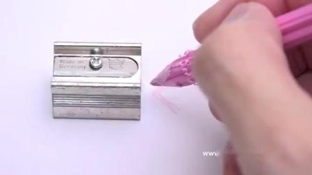 削りカスが花びらになる「花色鉛筆」が可愛い _ FLOWER PENCIL. japanese stationery.mp4