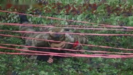 2020西点军事夏令营训练科目之穿越障碍网