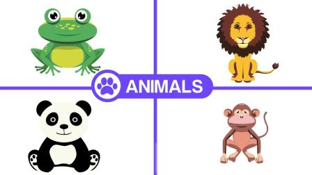 AE模板 卡通可爱儿童动物运动婴儿日常生活用品图标元素MG动画