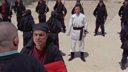 8大占据险要地势对抗中原武林,独臂小伙赤手空拳前去平息纷争.mp4