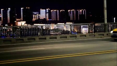 英雄城市武汉的夜景