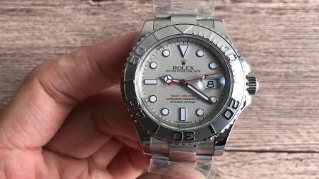 N厂劳力士游艇16622腕表 银灰色 2836机芯-哪有复刻瑞士表卖