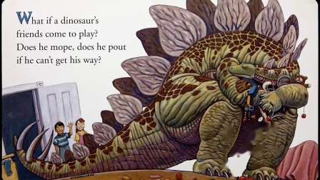 How Do Dinosaurs Play With Their Friends  Children's Book Read Aloud.mp4