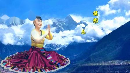 《佛说》藏族舞 编舞 笑言 湖南乐哈哈广场舞(130)摄影演示制作 乐哈哈