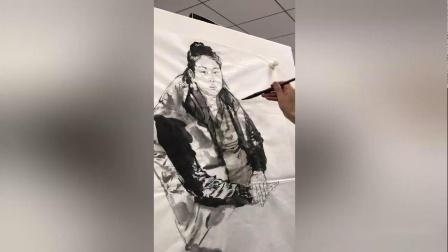 王赞教授视频网课-水墨人物写生-第1回
