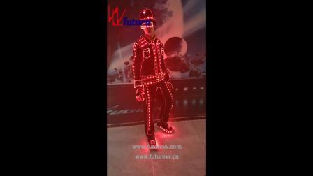 未来创意电子舞演出服 达人秀表演发光服 WL-194A.mp4