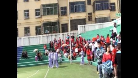 7-阳春三月延安宝塔区老体协健康运动会演出舞蹈【红红火火】