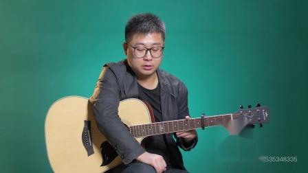 《乌兰巴托的夜》吉他弹唱教学C调入门版 高音教 猴哥吉他教学