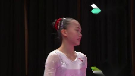 2018亚运会体操女子团体决赛 - 陈一乐 平衡木 14.750分