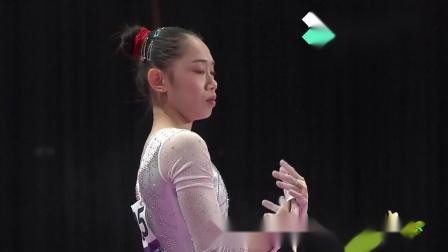 2018亚运会体操女子团体决赛 - 刘婷婷 高低杠 14.700分