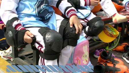 主题素材冰上护膝的表现拍摄