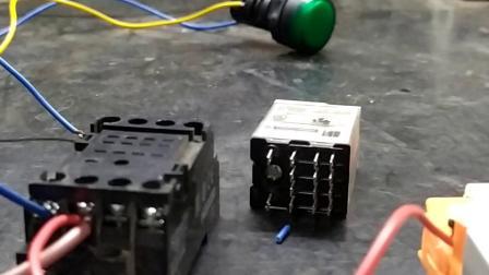 中间继电器怎么接线和作用